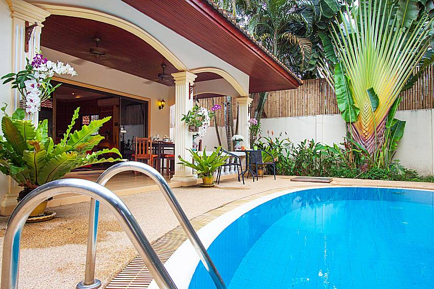 Swimming pool and property Villa Kaipo in Phuket