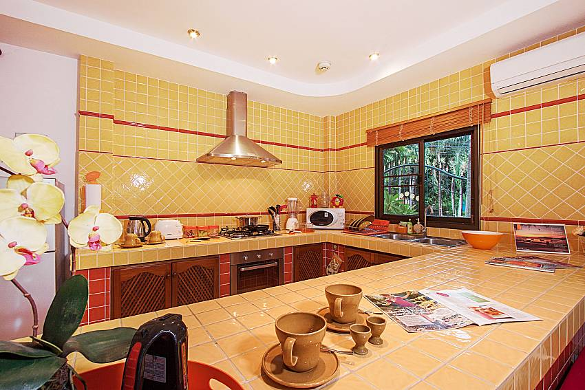 Kitchen Villa Genna in Rawai Phuket