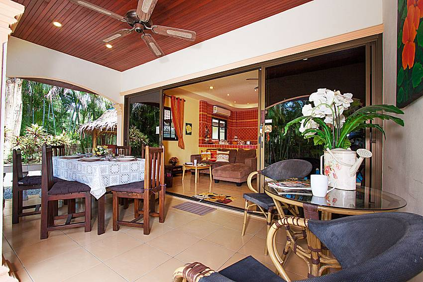 Seat and table Villa Onella in Phuket