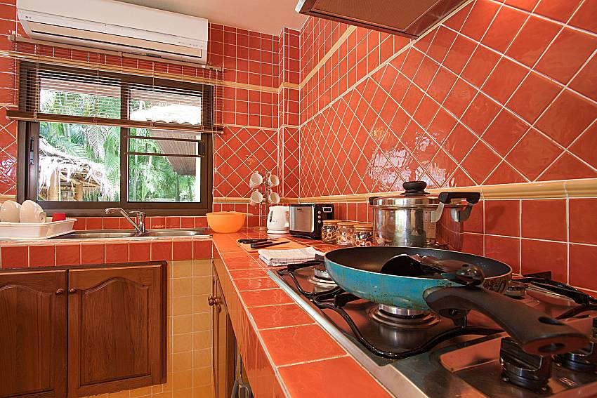Kitchen Villa Onella in Phuket