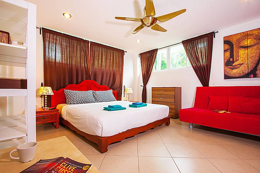 Bedroom Villa Niyati in Phuket