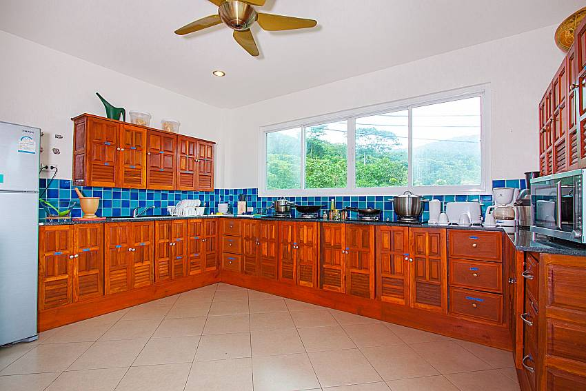 Kitchen Villa Niyati in Phuket