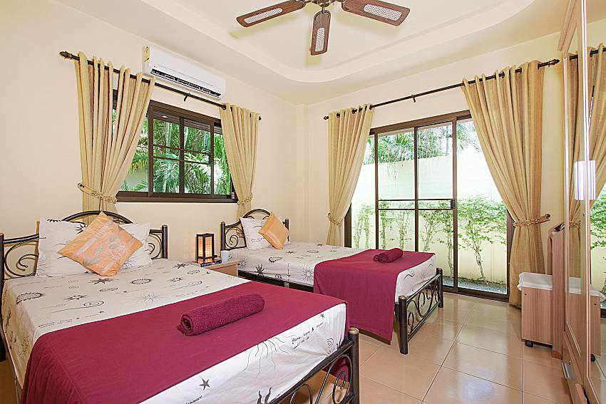 Bedroom Villa Maiki at Rawai in Phuket