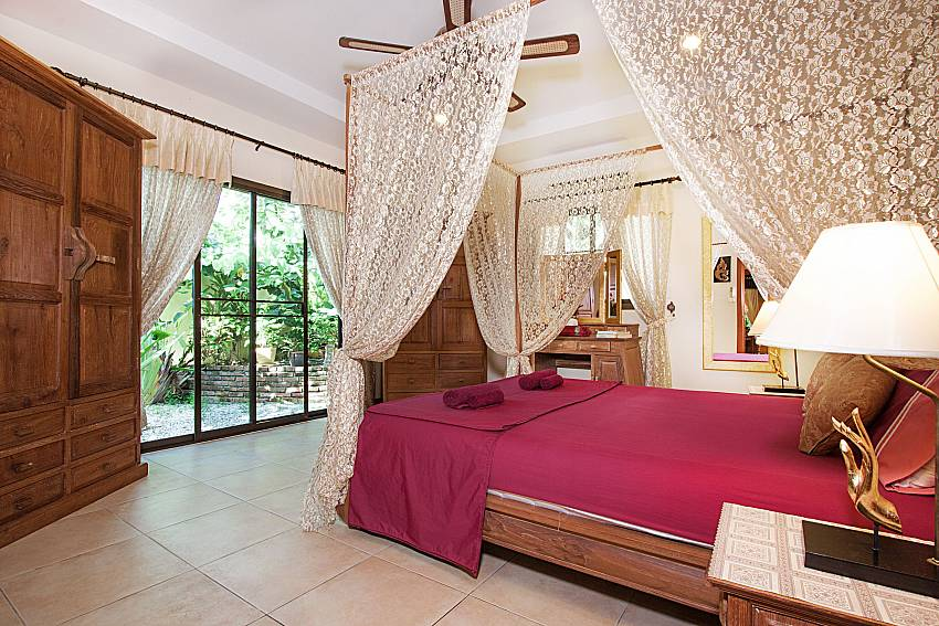 Bedroom Villa Oditi in Phuket