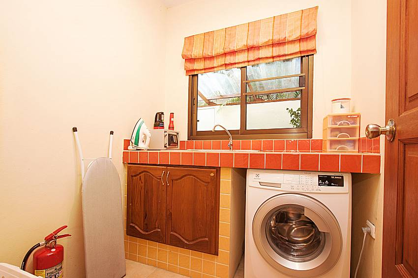 Washing machine Villa Oditi in Phuket