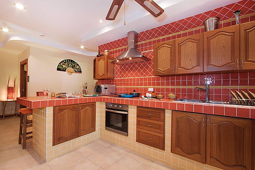 Kitchen Villa Oditi in Phuket