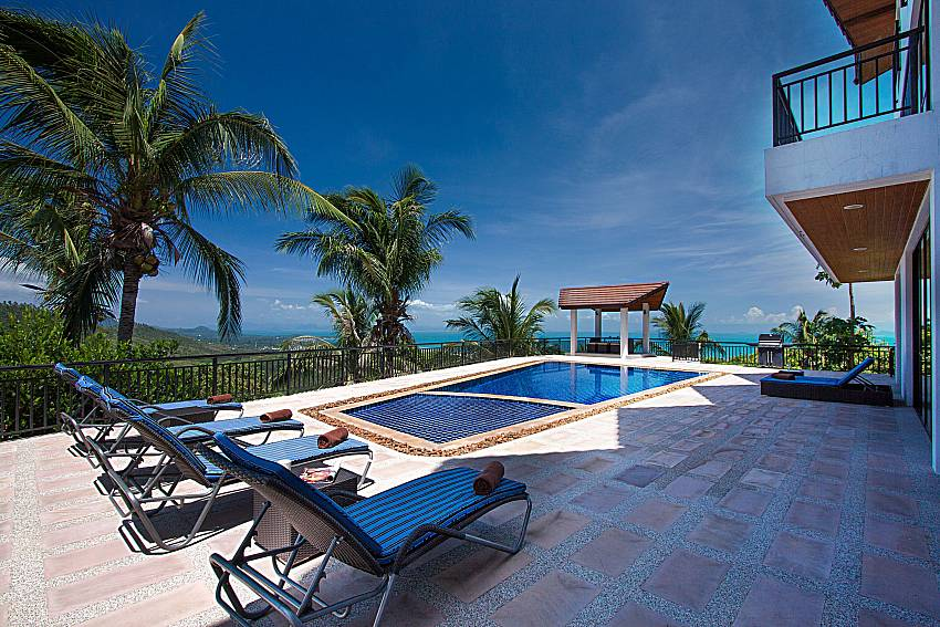 Idyllic 6 Bed Pool Villa In The Hills Of Koh Samui For Rent