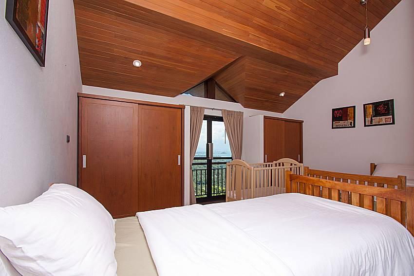 Bedroom Phukea Villa in Koh Samui