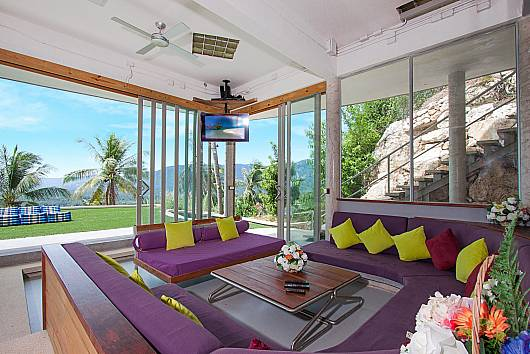 Rent Samui Villa: Hin Villa – 5 Beds, 5 Bedrooms.  baht per night