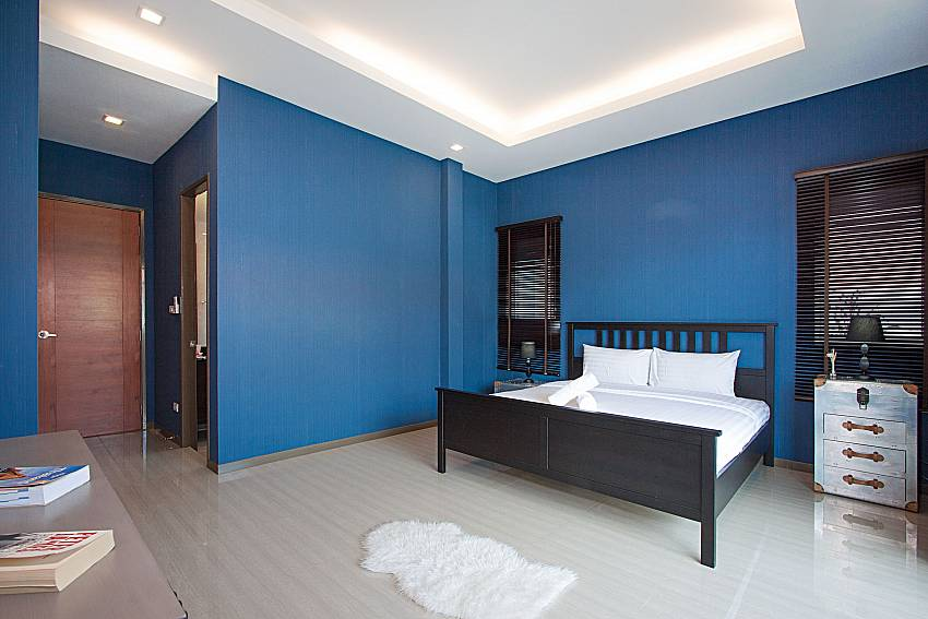 Bedroom Casterly Villa in Jomtien Pattaya