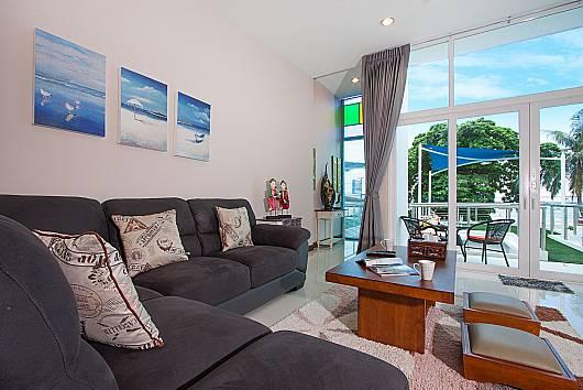 Аренда виллы в Паттайе: Bangsaray Beach House B – 2 Beds, 2 Спальни. 6350 бат в день