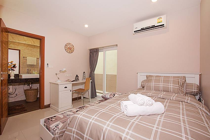Bedroom Bangsaray Beach House B at Bangsaray Pattaya