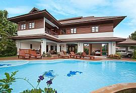 Lanna Karuehaad Villa B - невероятная вилла с 7-ю спальнями и бассейном в древнем Чианг Мае