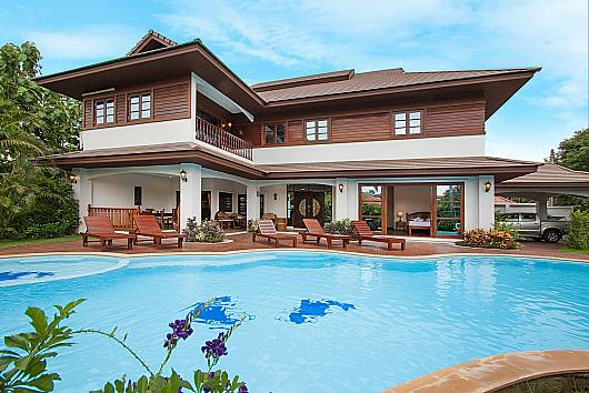 Аренда виллы в Чианг-Мае: Lanna Karuehad Villa B - 7 Beds, 7 Спален. 23000 бат в день