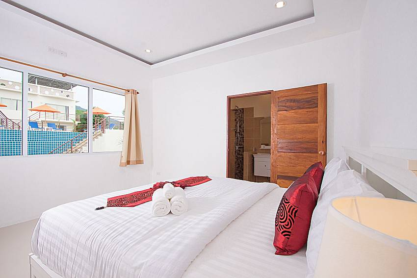 Bedroom Villa Mak Di 103 in Samui