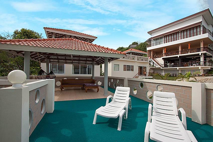 Sun bed Villa Mak Di 103 in Samui