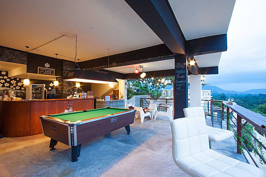 Pool table Villa Mak Di 103 in Samui