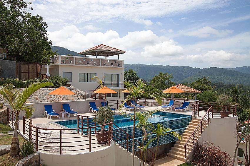 Swimming pool and property Villa Mak Di 104 in Samui