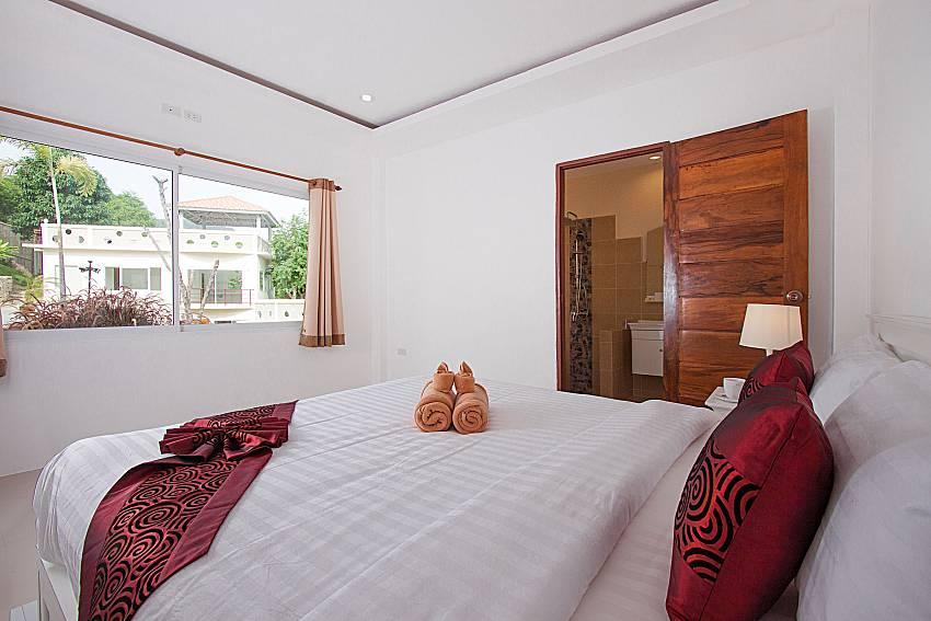 Bedroom Villa Mak Di 104 in Samui