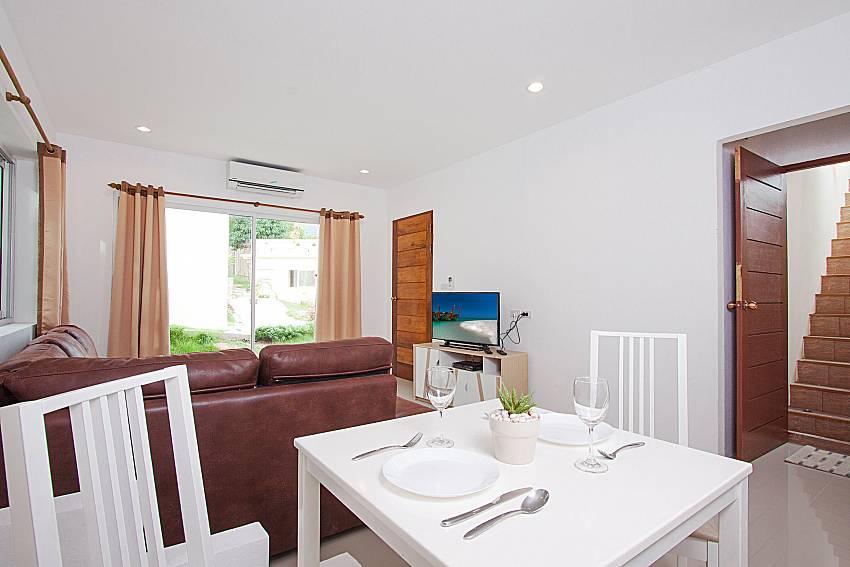 Dinning area Villa Mak Di 104 in Samui