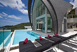 Sky Dream Villa | 4 Betten Pool Villa mit Meerblick Chaweng Samui