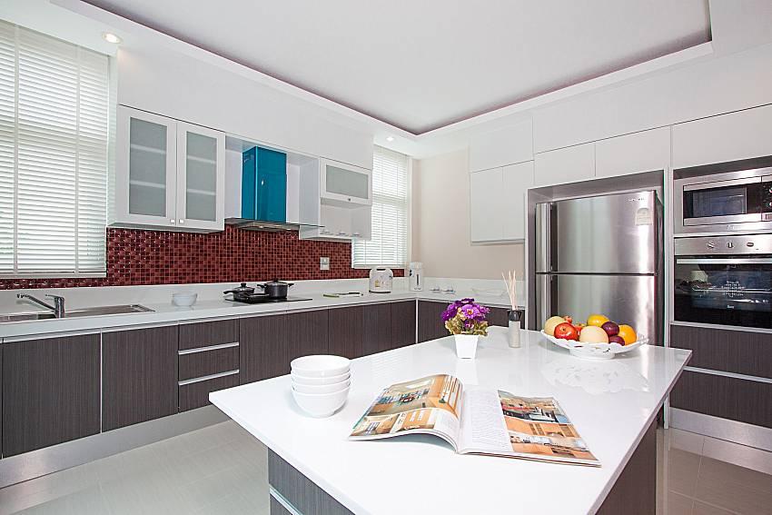 Kitchen Villa Modernity A in Pattaya