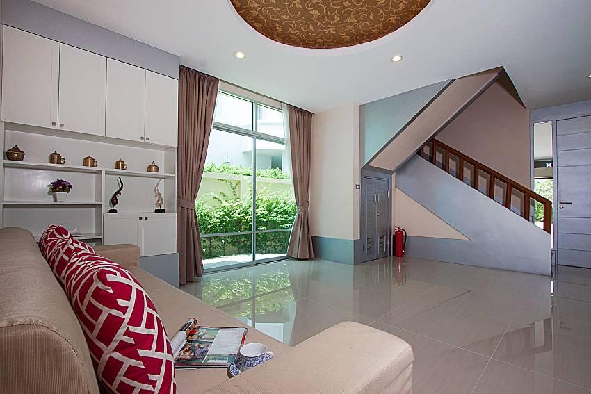Living room Villa Modernity A in Pattaya