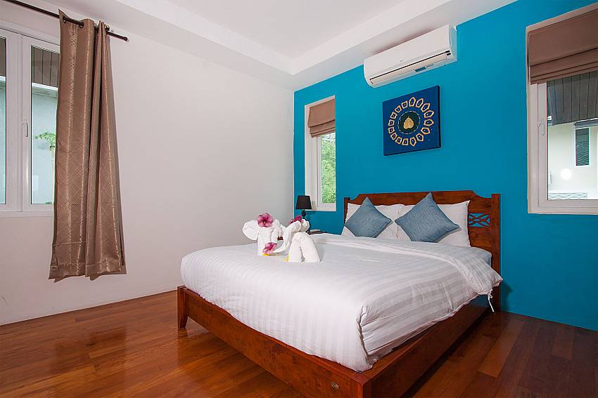 Bedroom Villa Janani 303 in Samui