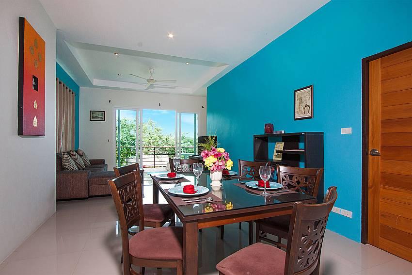 Dinning area Villa Janani 201 in Samui