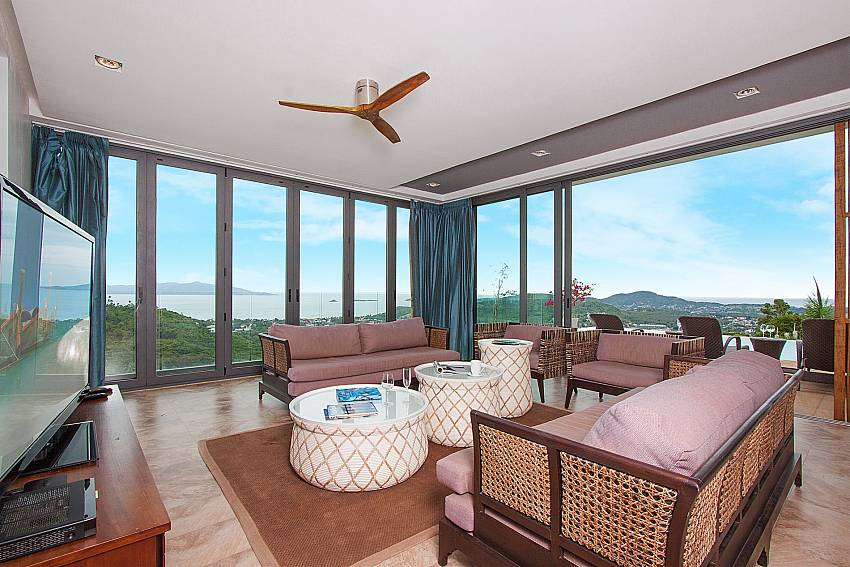 Deluxe Lounge with Sea View-Villa High Rise_Bophut_Samui_Thailand