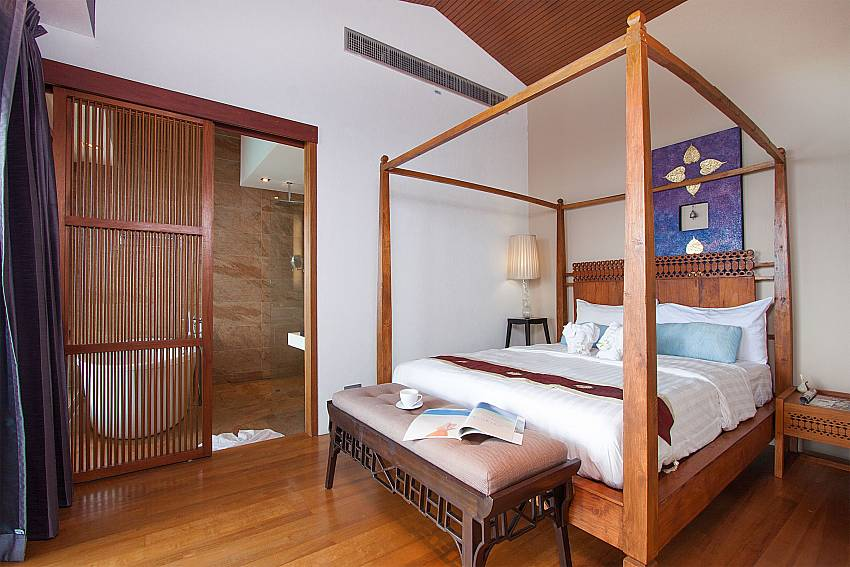 comfortable bedroom at-Villa High Rise_Bophut_Samui_Thailand