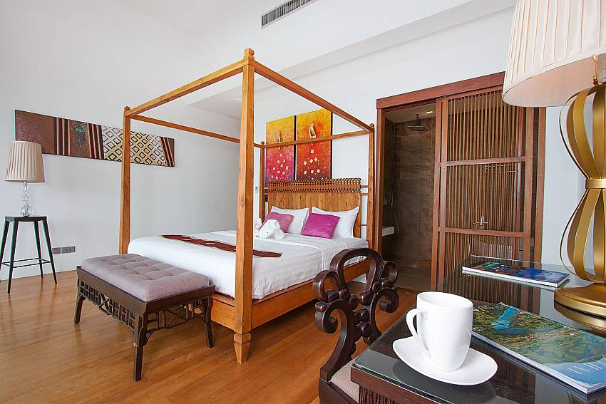 4. kingsize bedroom-Villa High Rise_Bop Hut_Koh Samui_Thailand