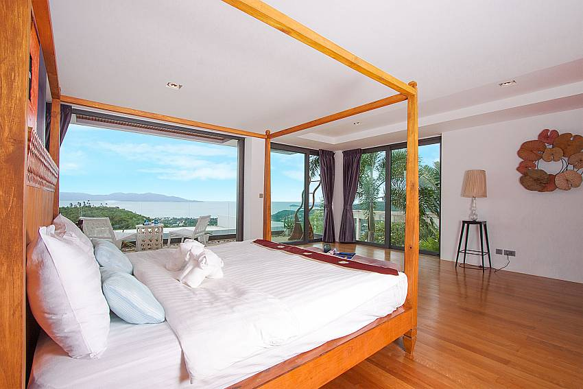 4 poster king size bed in 6. bedroom-Villa High Rise_Bophut_Samui_Thailand