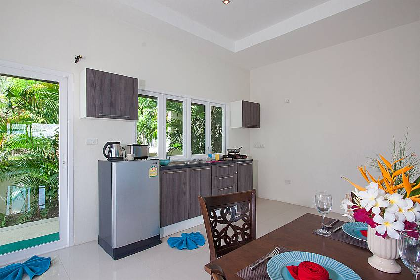 Kitchen Villa Janani 202 in Samui