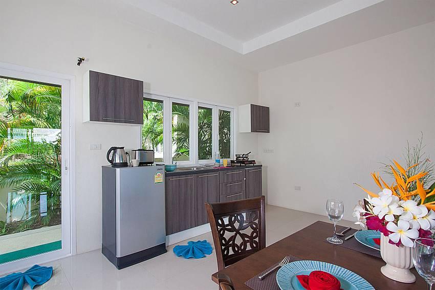 Kitchen Villa Janani 202 in Samui