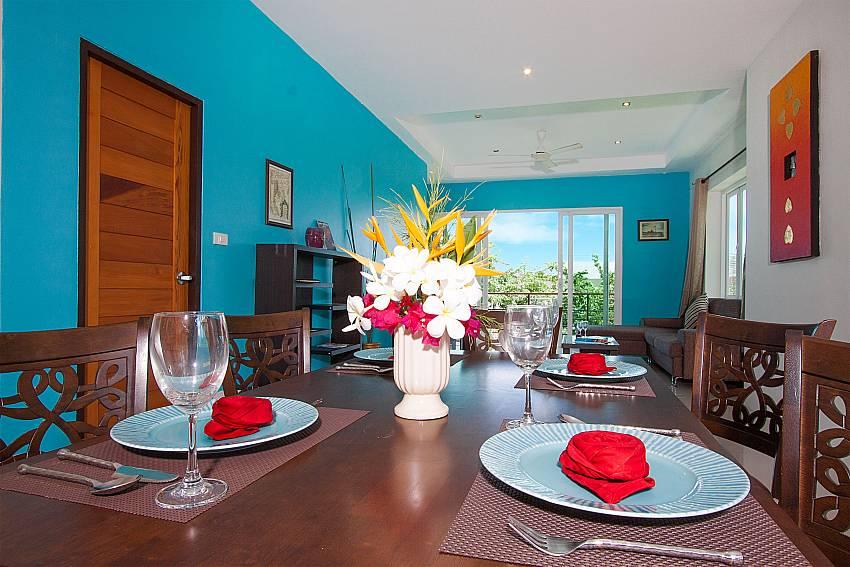 Dinning area Villa Janani 202 in Samui