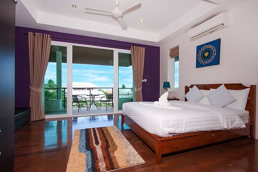Bedroom Villa Janani 202 in Samui