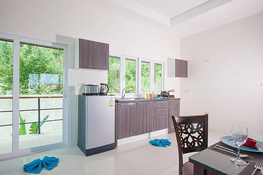 Kitchen Villa Janani 302 in Samui