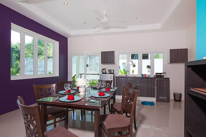 Dinning area Villa Janani 304 in Samui