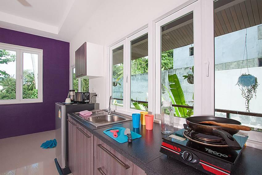 Kitchen Villa Janani 304 in Samui