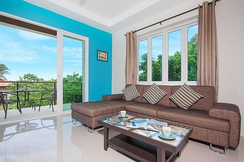 Living room Villa Janani 304 in Samui