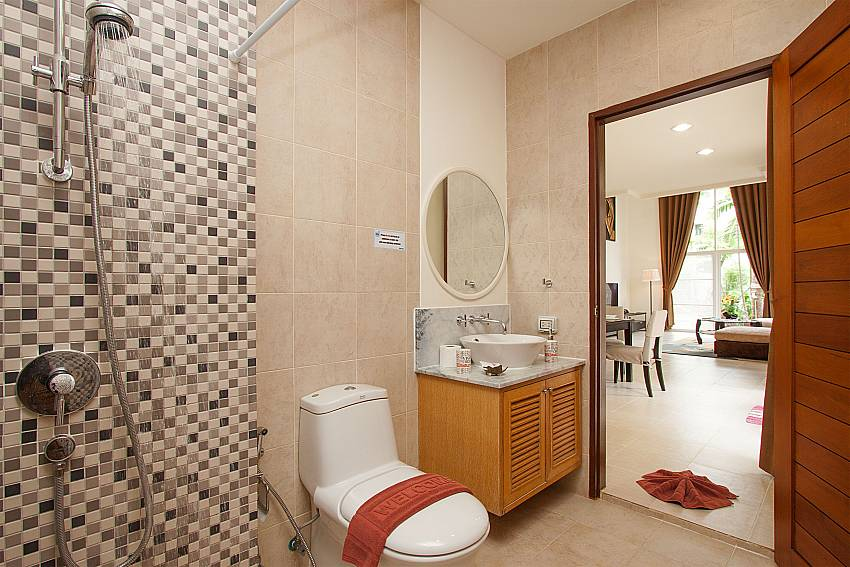 Bathroom with shower Blue Lagoon Hua Hin 301 in Hua Hin