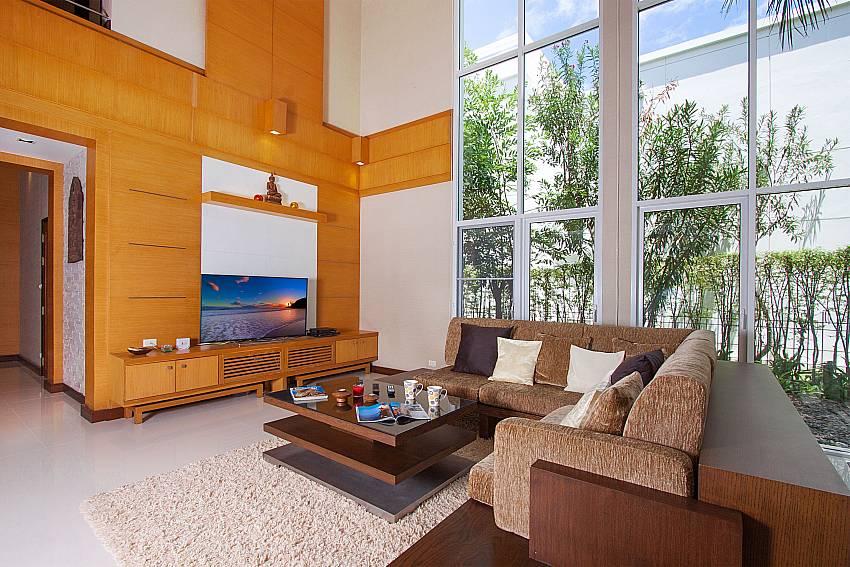 Living room with TV Blue Lagoon Hua Hin 401 in Hua Hin