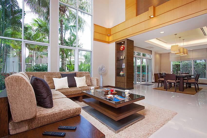Living room Blue Lagoon Hua Hin 401 in Hua Hin