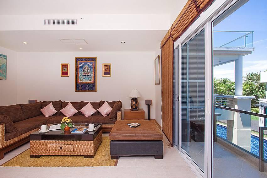 Living room Blue Lagoon Hua Hin 201 in Hua Hin