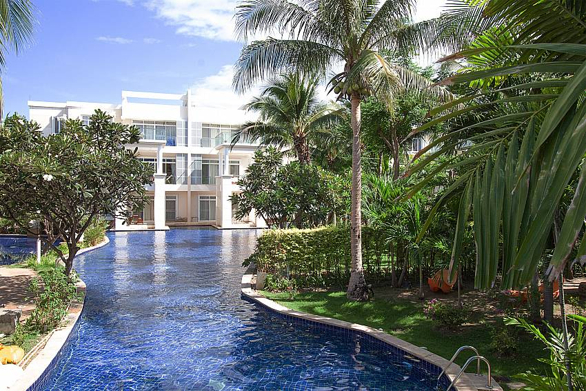 Swimming pool and property Blue Lagoon Hua Hin 201 in Hua Hin