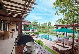Villa Qualitas - потрясающая самобытная лакшери-вилла с 3-мя спальнями и видом на озеро в Хуа Хине