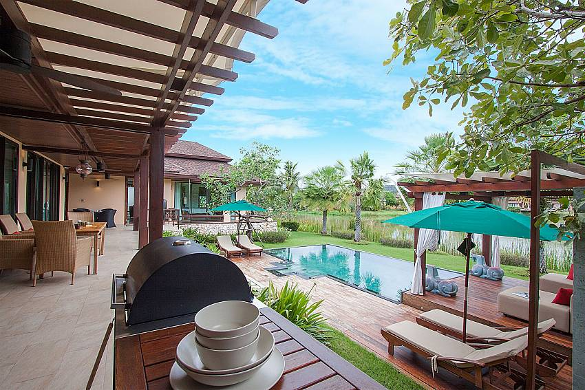 BBQ facility Villa Qualitas in Hua Hin