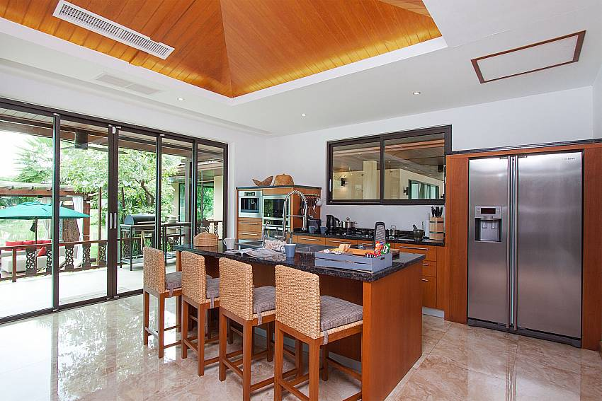 Kitchen Villa Qualitas in Hua Hin