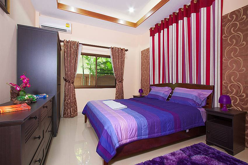 2 single beds at Thammachat Victoria II_Huay Yai_Pattaya_Thailand